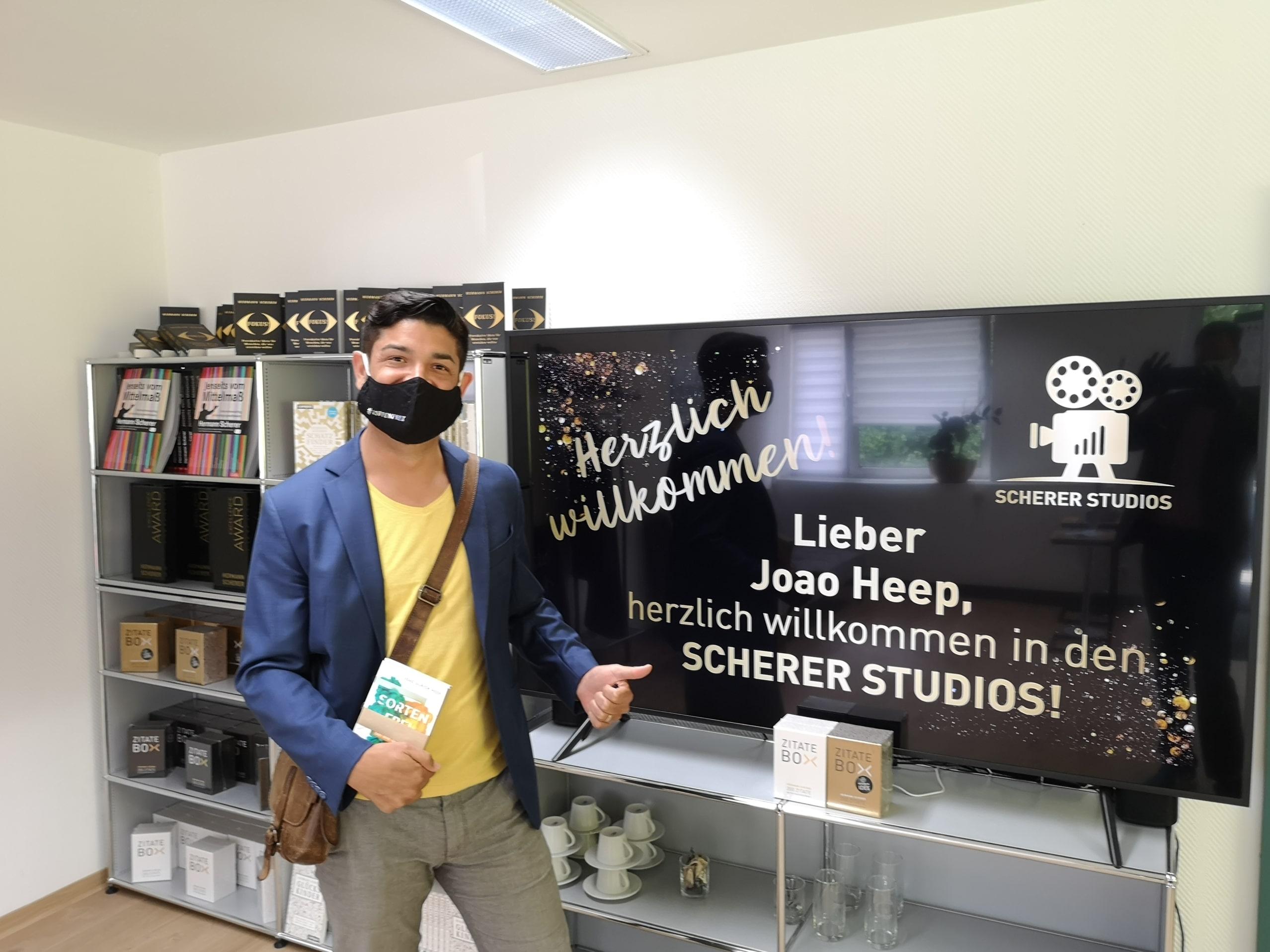 João Heep zu Gast bei Scherer Daily